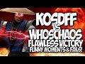 "MORTAL KOMBAT X: KOSDFF vs WHOSCHAOS! FLAWLESS VICTORY!! #GOONSQUAD ""FUNNY MOMENTS"" & FAILS!"