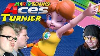 Spiel 1 gegen Dhalucard und Kapuzenwurm 🎮 Mario Tennis Aces Allstars #1