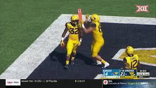 Kansas vs. West Virginia Football Highlights