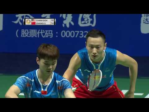 Thaihot China Open 2016 | Badminton R16 M4-XD | Chan/Goh vs Zhang/Li