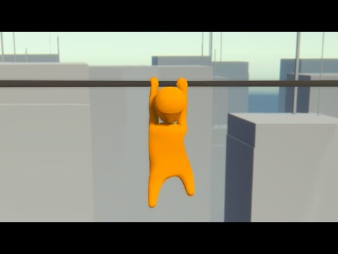 HOLD ON AND NEVER LET GO! (Human Fall Flat #5)