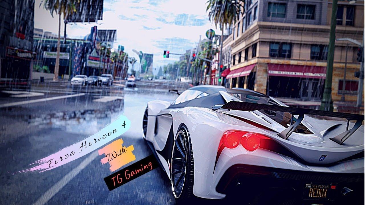 Playing Forza Horizon 4 !!! Like A Boss