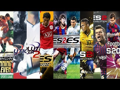The Evolution Of PES Games ⚽ (1995-2020)