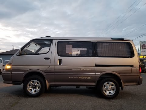 Toyota Hiace Super Custom LIMITED 1994 KZH106 полный привод