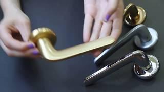 видео дверные ручки colombo