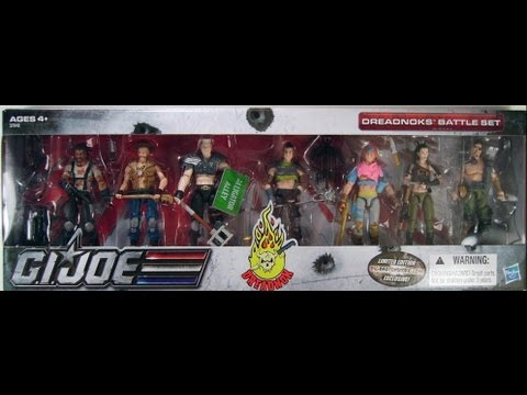 G.I. Joe Dreadnoks 7 pack review