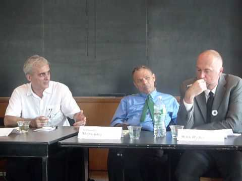 Panel Discussion on Srebrenica at Columbia University - Part 2