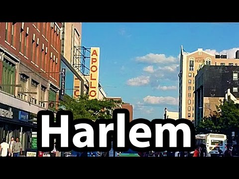 An Afternoon in Harlem, New York City