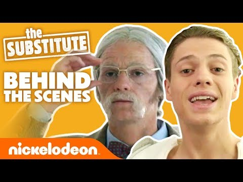 Jace Norman's Craziest Disguise Yet 🤣 BTS on 'The Substitute' | Nick