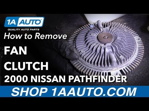 How to Replace Fan Clutch 96-00 Nissan Pathfinder