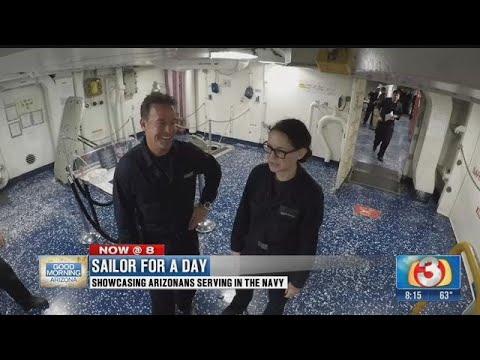 A Sailor for a Day: Meet Arizona Sailor Madison Brannen