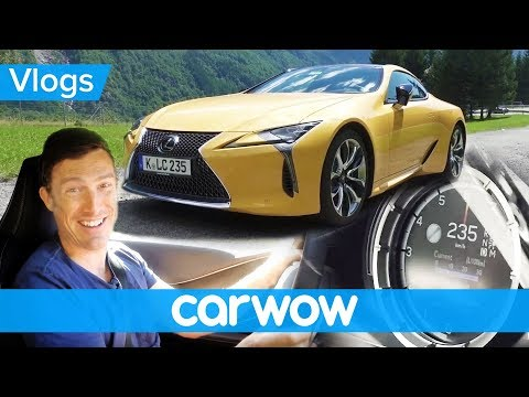 Lexus LC500 review – tested on the Autobahn and in the Alps | Mat Vlogs