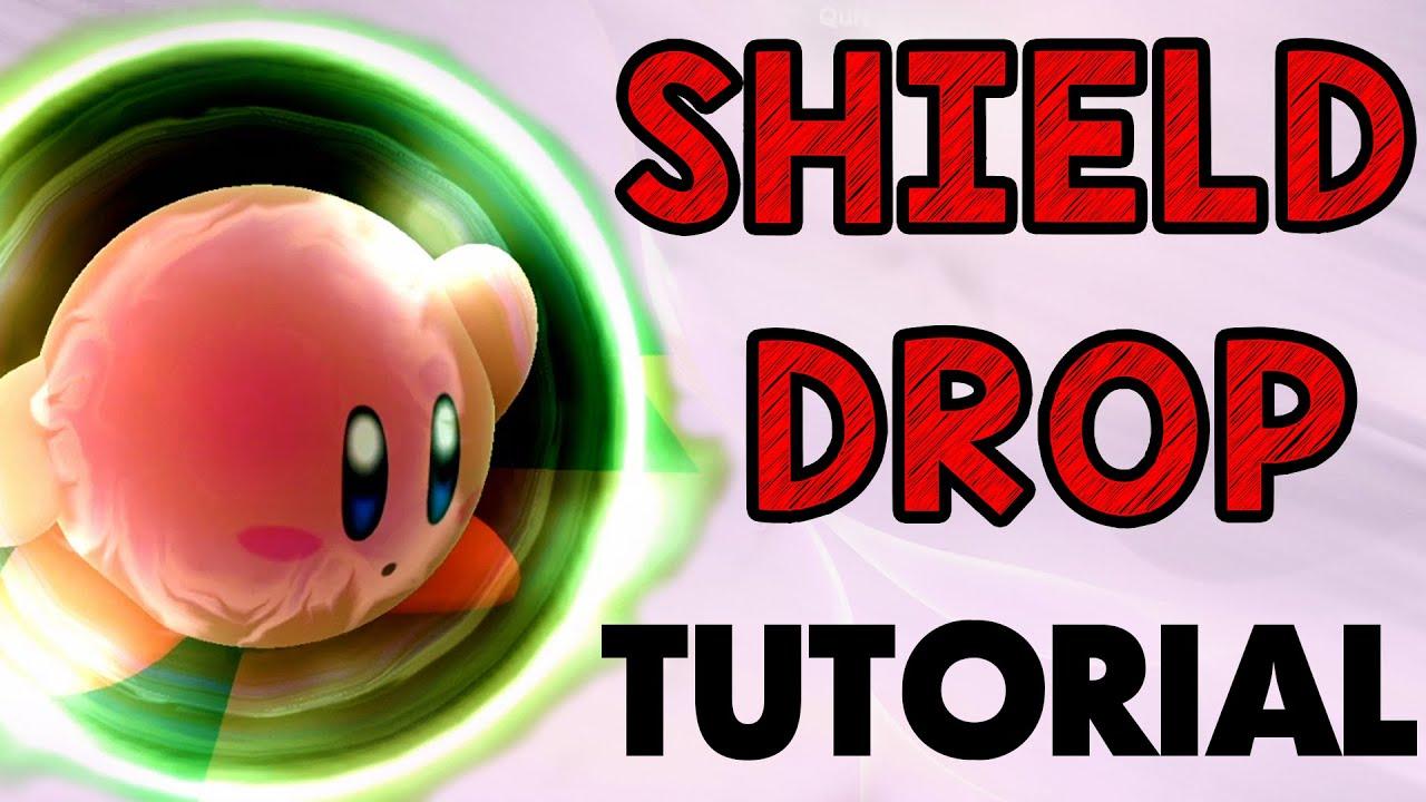 Shield Drop Tutorial! (Smash Wii U/Melee/64/Brawl)