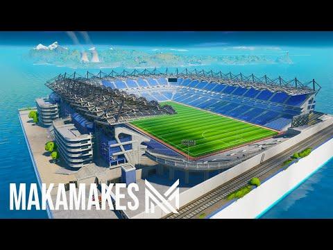 Creating The LARGEST STADIUM In Fortnite Creative! (Croke Park And Super Bowl Stadium Build)