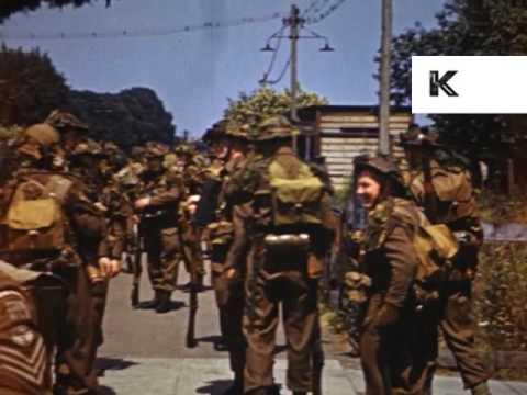 1940s Epsom Home Guard Training, Rare Colour UK WWII Home Movies