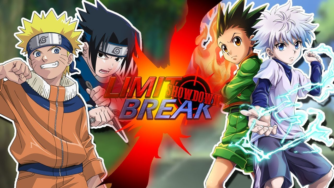 naruto and sasuke vs gon and killua naruto vs hunter x hunter
