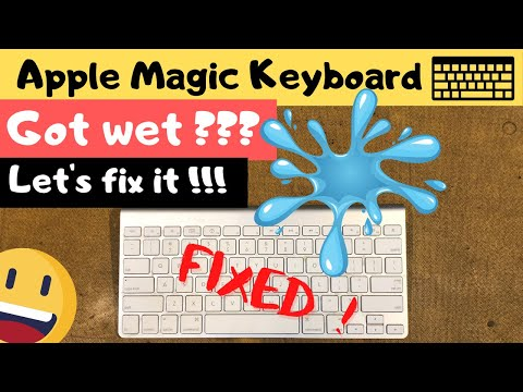 """HOW TO: Repair An Apple Wireless Keyboard By """"NOT"""" Washing It Under A Tap"""
