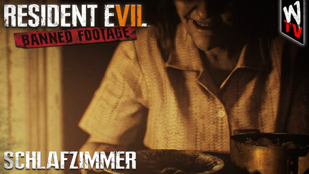 RESIDENT EVIL 7: Banned Footage [DLC] - Schlafzimmer   PS4 ...