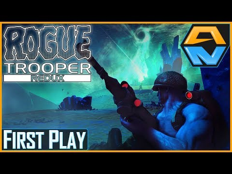 "ROGUE TROOPER REDUX   First Play   ""QUARTZ ZONE MASSACRE""  "