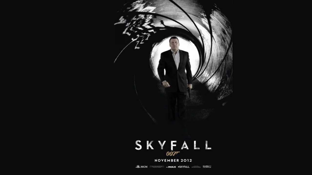 Bond movie poster backgrounds and overlays