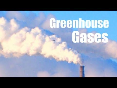Types of Greenhouse Gases