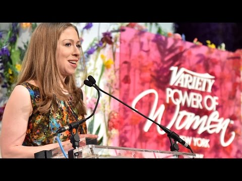 Chelsea Clinton's full speech at Variety's Power of Women NY