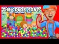 The Color Song by Blippi | Learn Colors for Toddlers