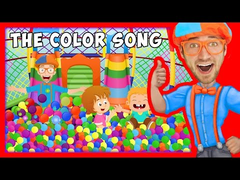 Thumbnail: The Color Song by Blippi | Learn Colors for Toddlers