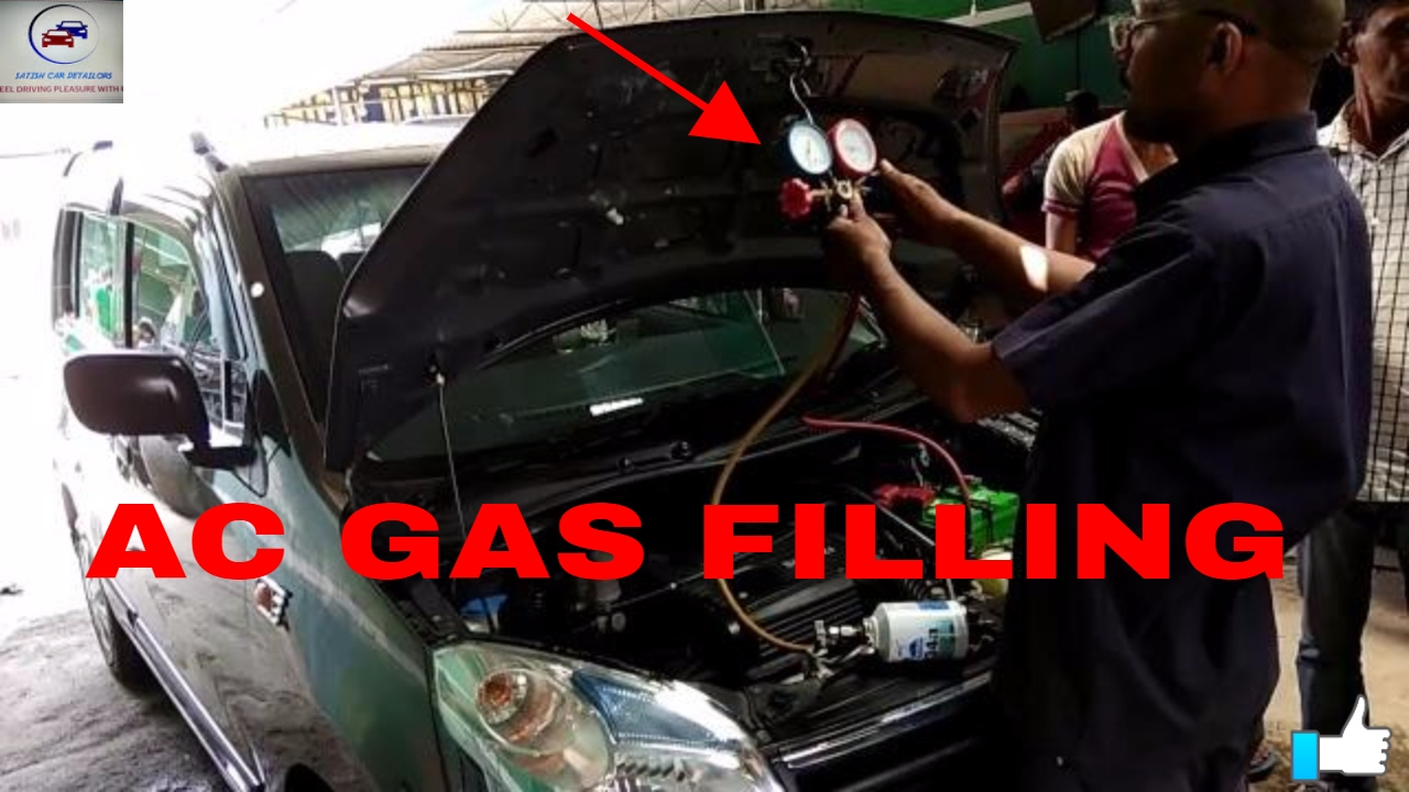 Ac Gas Filling Maruti Suzuki Youtube