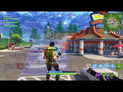 iq Reserve-- Tune in-- Fortnite!! First ever time using keyboard funny af