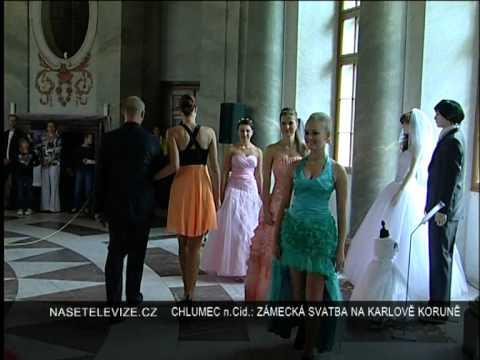 Chlumec Nad Cidlinou Zamecka Svatba Na Karlove Korune Youtube