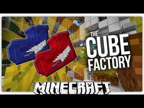 Minecraft | THE CUBE FACTORY | Amazing Command Block Custom Map