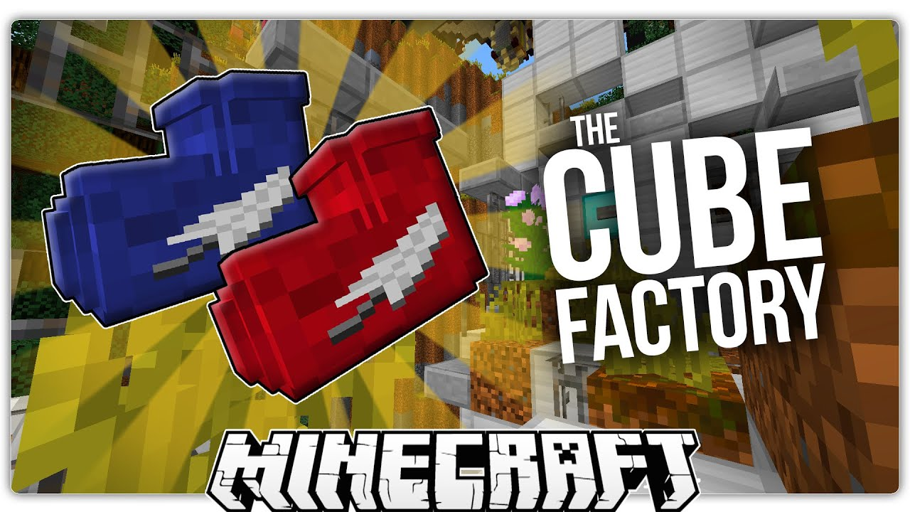 Minecraft THE CUBE FACTORY Amazing Command Block Custom Map - Minecraft commands fur maps