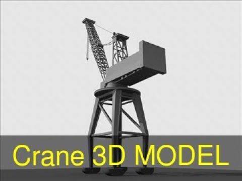 3D Model of Crane Review