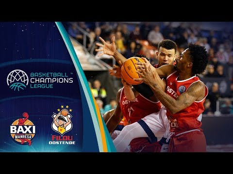Baxi Manresa V Filou Oostende – Highlights – Basketball Champions League 2019-20