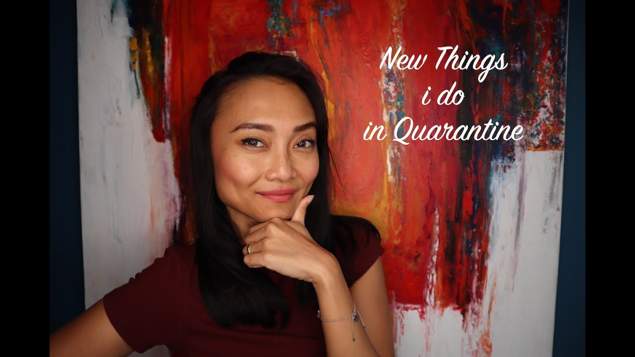 #DIRUMAHAJA New Things I do in Quarantine || Disco Angel VLOG #22