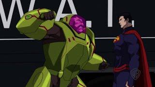 "The Death of Superman - ""Superman vs. Mannheim"" Clip"