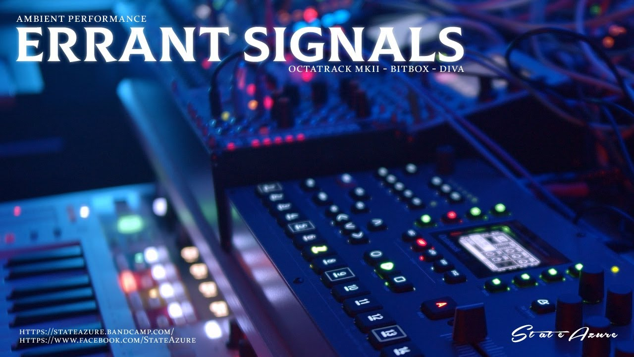 Errant Signals - Ambient Performance (Octatrack mkII, Bitbox)