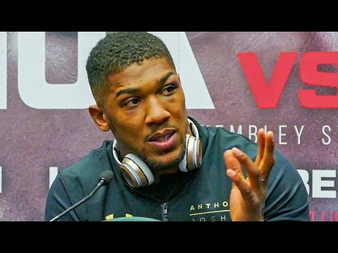 Anthony Joshua POST FIGHT PRESS CONFERENCE | After Beating Wladimir Klitschko
