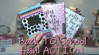 Haul ACTION Back tO School, Make Up and cO !