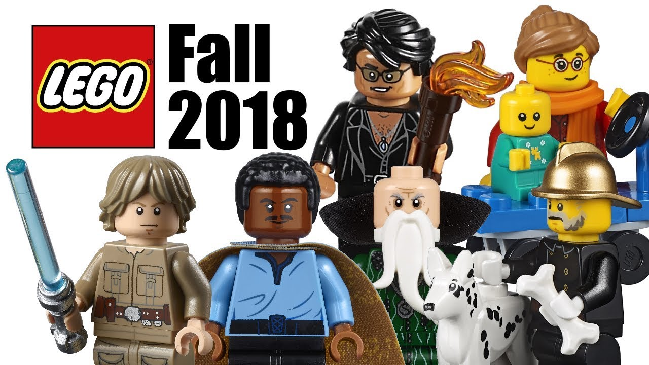 Top 10 Most Wanted LEGO Sets of Fall 2018!
