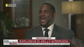 'It's not fair': R Kelly tearfully denies sex abuse allegations in tense interview