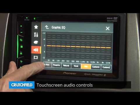 Pioneer AVH-501EX Display And Controls Demo | Crutchfield Video
