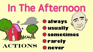 always, usually, sometimes, rarely, never | English Speaking Practice | ESL | EFL | thumbnail