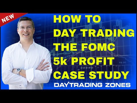 How To Day Trading The FOMC – 5k Profit (2018 Case Study)