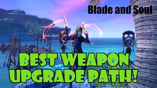 [Blade and Soul] Best / Cheapest Weapon Upgrade Path