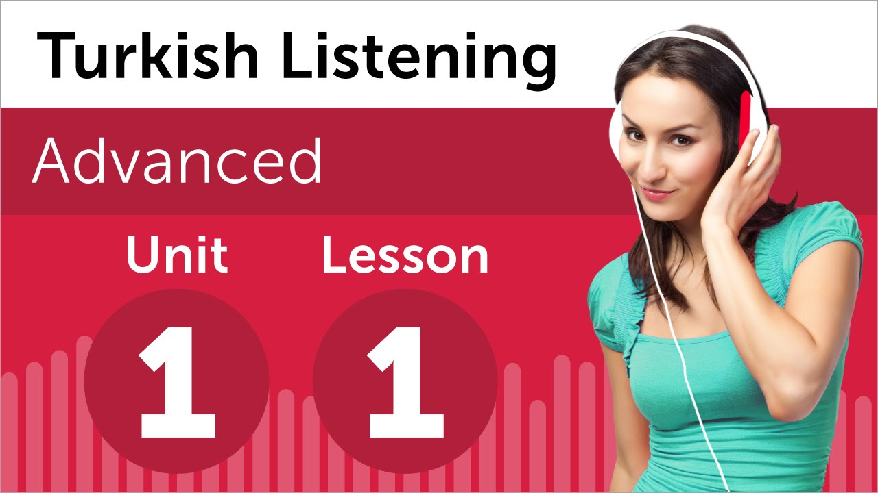 Turkish Listening Practice - A Turkish Business Presentation