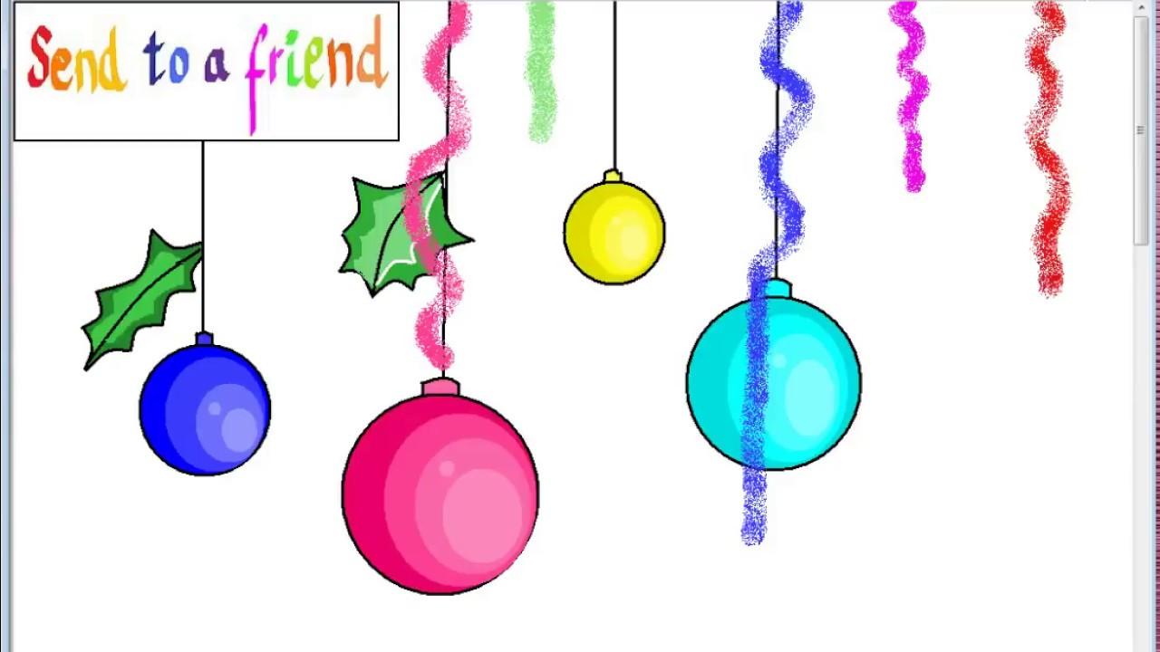 Dibujar bolas de navidad para ni os con cancion navide a - Bolas de navidad para ninos ...