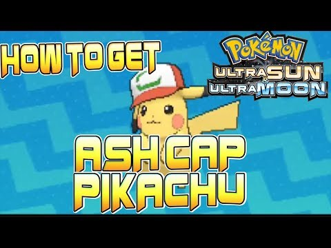 Free Download How To Get Ash Cap Pikachu In Pokemon Ultra Sun And Moon - New Ash Pikachu  Gift For Pokemon Usum Mp3 dan Mp4