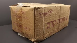2009 Israeli Manot Krav 4 Man 24 Hour Ration MRE Review Military Combat Army Food Tasting מנות קרב